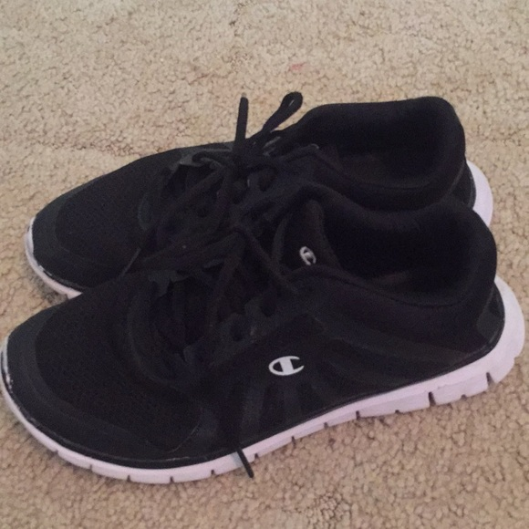 3faaf3479 Champion Shoes - WOMENS BLACK ATHLETIC SHOES